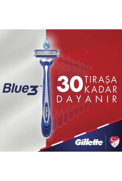 Gillette Blue3 Ice 3'lü Kullan At Tıraş Bıçağı