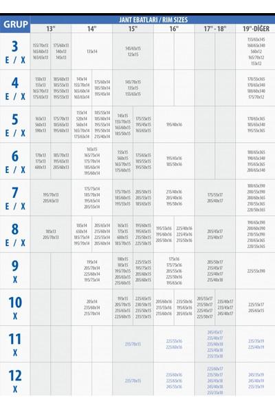 Knk Takmatik Kar Patinaj Zinciri 195X50X16 Knk 7