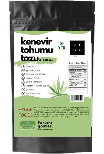 Vegovego Protein Kenevir Tozu 100 gr