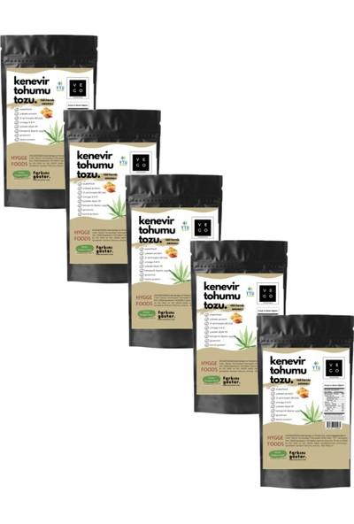 Vegovego Kenevir Kendir Tohumu Tozu - Yer Fıstığı Aromalı - 5 Adet