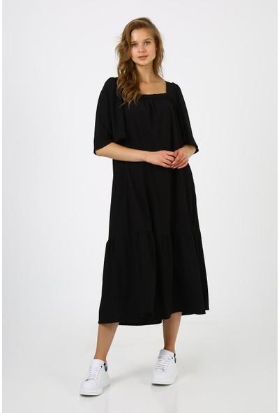 Alexandergardı Kare Yaka Elbise (B21-4220)