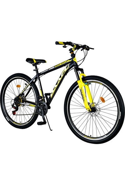 Daafu Sxc200 29 Jant Bisiklet Vitesli Disc Tek Amortisörlü Dağ Bisikleti Siyah - Sarı-Standart