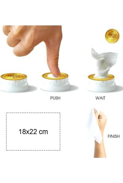 Pufai Puff Clean Hijyenik Islak Mendil Medikal Cihaz ve Malzeme Temizliğinde Kullanım Içindir 72 Kapsül
