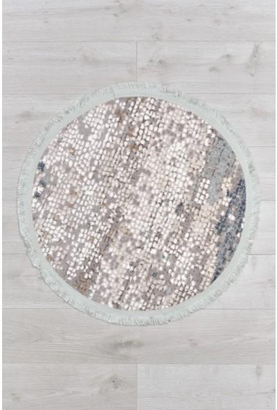 Akman Yuvarlak Paspas 80 cm - Mint Yeşili