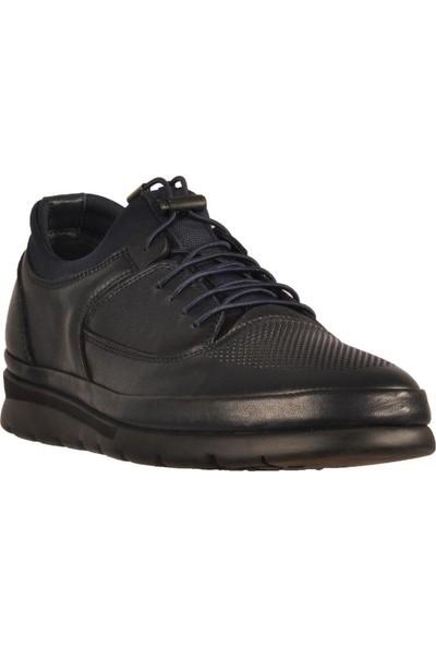 James Franco 5192 Lacivert Erkek Günlük Deri Ayakkabı