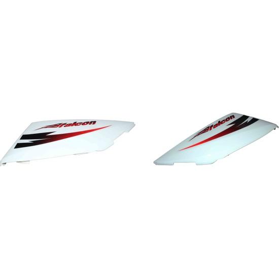 Falcon Active 3500 (1200 W) Far Grenajı Alt Parça Sağ Sol Beyaz Takım Orijinal