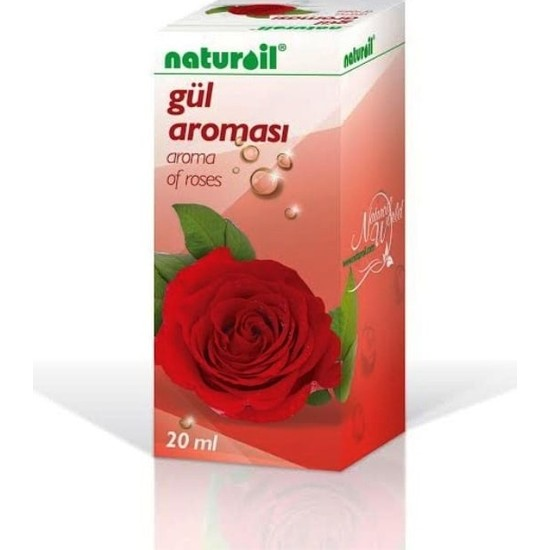 Naturoil Gül Aroması 20 ml