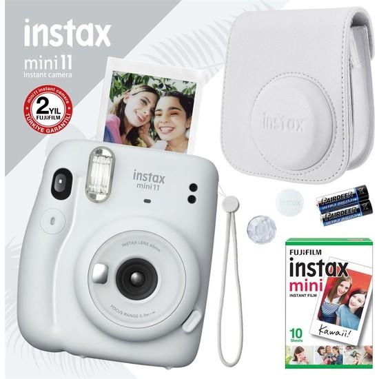 Fujifilm Instax Mini 11 Beyaz Fotoğraf Makinesi Seti 3