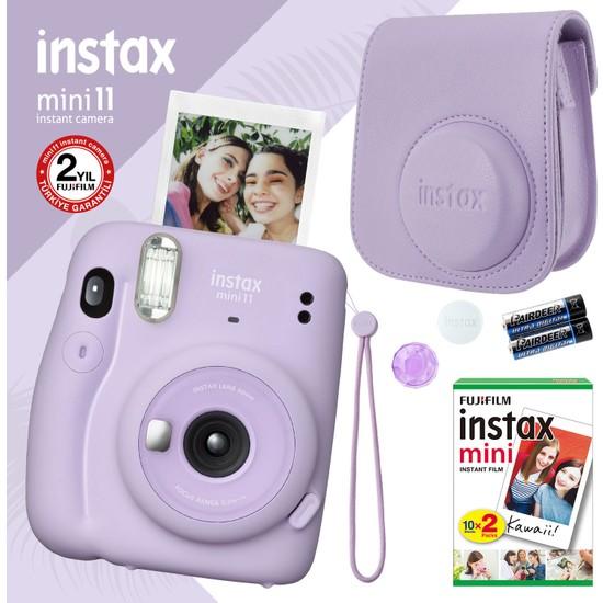 Fujifilm Instax Mini 11 Lila Fotoğraf Makinesi Seti 4