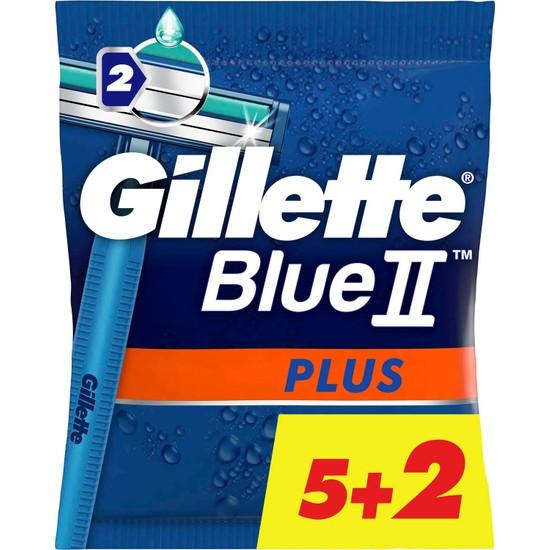 Gillette Blue2 7'li Plus Kullan At Tıraş Bıçağı