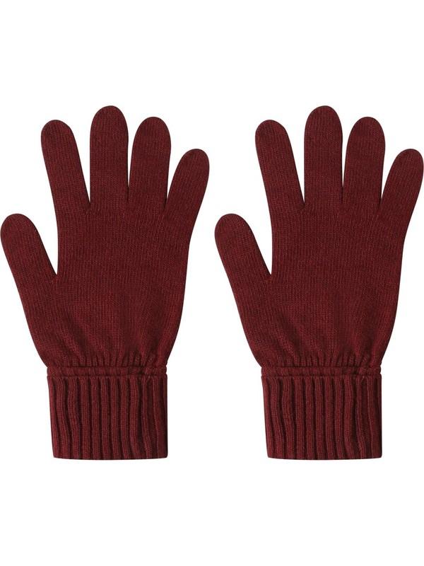 Colins Modern Fit Kadın Koyu Kırmızı Eldiven
