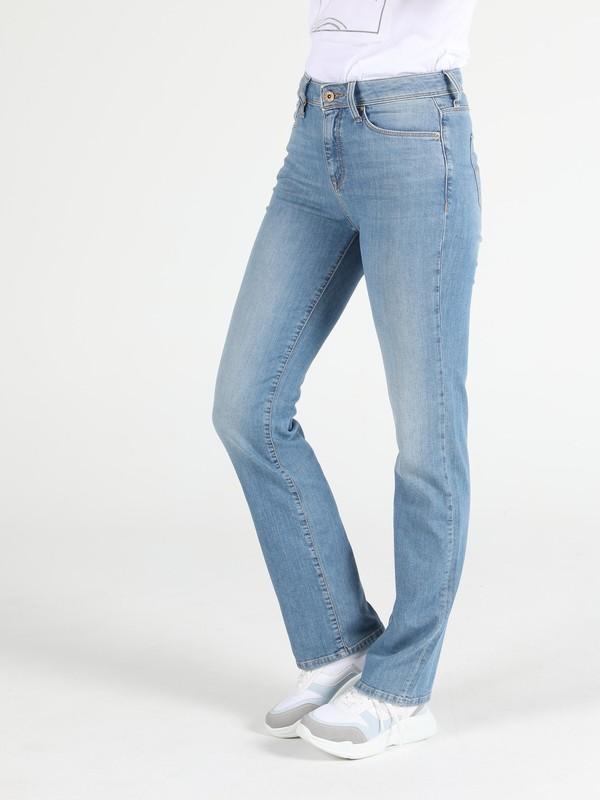 Colins 792 MILA Orta Bel Düz Paça Regular Fit Jean Kadın Jean Pantolon