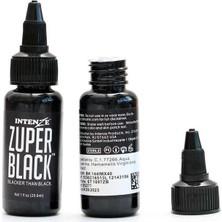 Intenze Koyu Siyah Dövme Boyası 1 Oz 30 ml