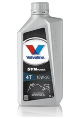 Valvoline Full Sentetik Motosiklet Yağı 10W30 Valvoline Synpower 1lt