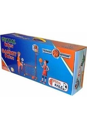 Akçiçek Oyuncak Portatif Futbol Kalesi ve Pota Seti