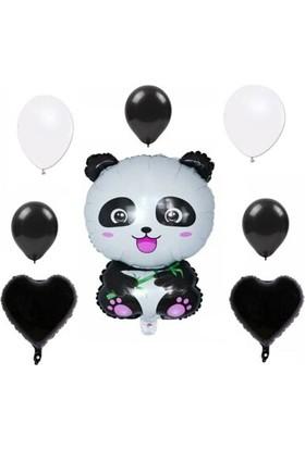 Asel Panda Folyo Balon Set