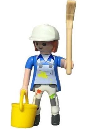 Playmobil Girls Kızlar Minifigür Serisi - Boyacı Kadın