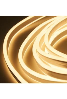 Agb LED Neon Esnek Şerit LED 3 Metre Günışığı + 220 Volt Fiş Dahil
