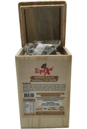 Topix Espresso Kahve Karışımlı Toz Içecek 120 gr