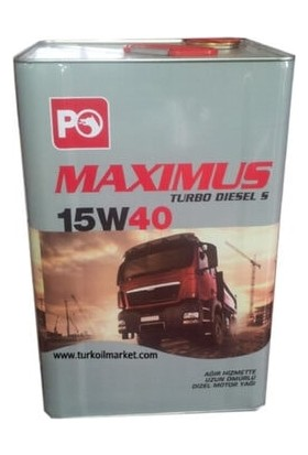 Petrol Ofisi Maxiumus 15W40 Turbo Diesels
