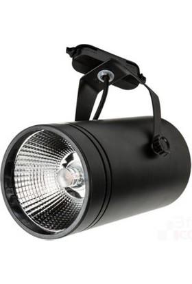 LED Vitrini 30 Watt Ray Spot Siyah-Günışığı