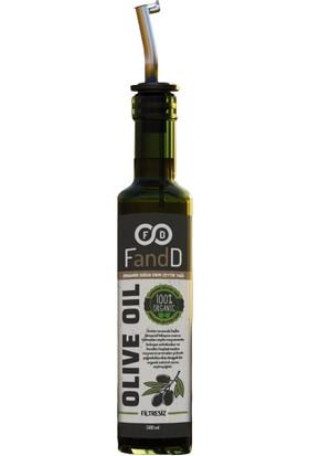 Fandd Organik Zeytinyağı Soğuk Sıkım Filtresiz 500 ml