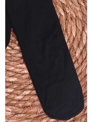 İtaliana Kız Çocuk Külotlu Çorap Basic Siyah (2-13 Yaş)