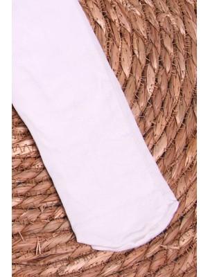 İtaliana Kız Çocuk Külotlu Çorap Basic Beyaz (2-13 Yaş)