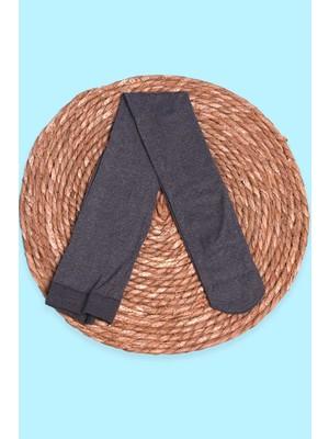 İtaliana Kız Çocuk Külotlu Çorap Basic Antrasit (2-13 Yaş)