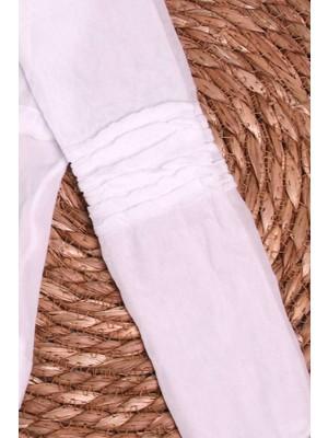 İtaliana Kız Çocuk Punk Külotlu Çorap Basic Beyaz (2-13 Yaş)