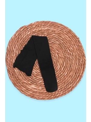 İtaliana Kız Çocuk Punk Külotlu Çorap Basic Siyah (2-13 Yaş)