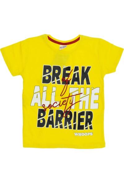 Whoops Ana Kuzusu Whoops Erkek Çocuk Break Baskılı Tişört