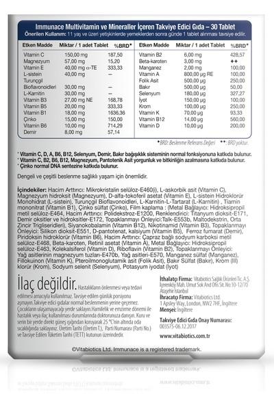 Vitabiotics Immunace® Original 30 Tablet