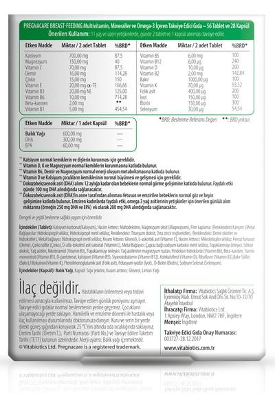 Vitabiotics Pregnacare® Breast-Feeding 56 Tablet