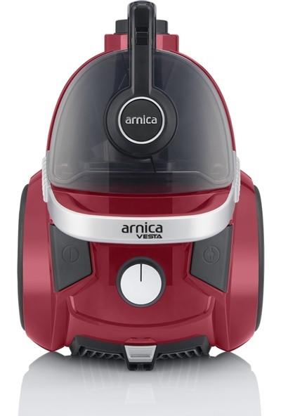 Arnica Vesta ET14450 Cyclon 750W Toz Torbasız Elektrikli Süpürge - Kırmızı