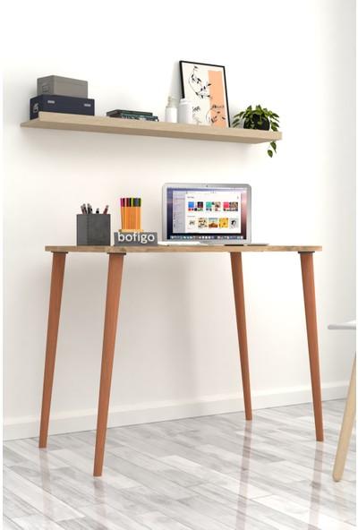 Bofigo 60X90 cm Çalışma Masası Bilgisayar Masası Ofis Ders Yemek Masası Çam