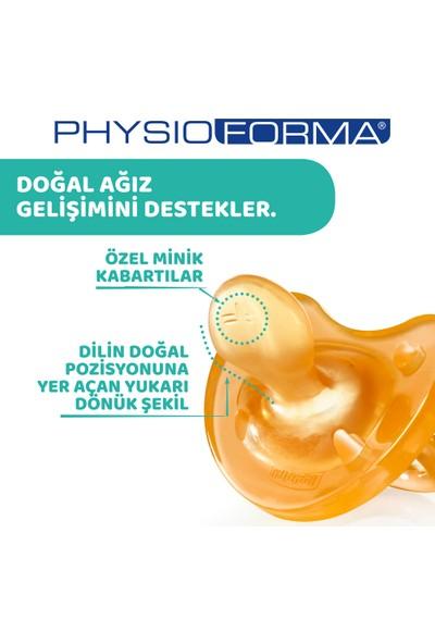 Chicco Physio Soft Kauçuk Emzik 12 ay+ Tekli