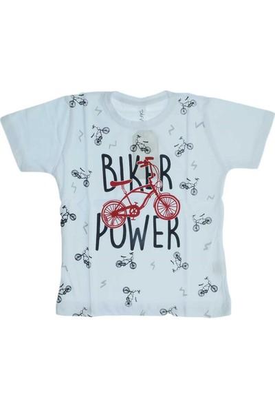 First Kids Ana Kuzusu Difa Kids Erkek Çocuk Biker Baskılı Tişört