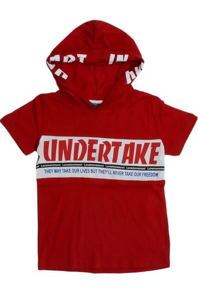 First Kids Ana Kuzusu First Kids Erkek Çocuk Undertake Baskılı Kapişonlu Tişört
