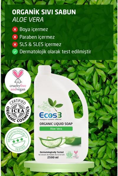 Ecos3 Organik Sıvı Sabun Set 2x2 5 Lt