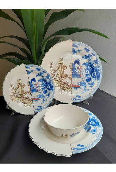 Ukyco Consept Tokyo 24 Parça Porselen Yemek Takımı