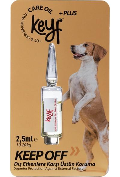 Keyf Plus Tüy & Deri Bakım Yağı Ense Damla Köpek 10-20 Kg-2,5 ml