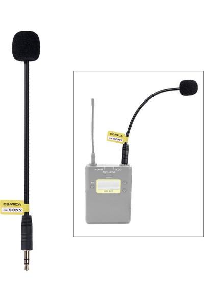 Comica Cvm-Gm-C2 3.5 mm Mikrofon Giriş Hattı Kardiyoid Polar Desen Kablosu Sony İçin (Yurt Dışından)