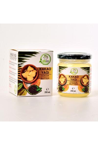 Şifa Ana Yenilebilir Soğuk Sıkım Kakao Yağı 210 ml x 2'li