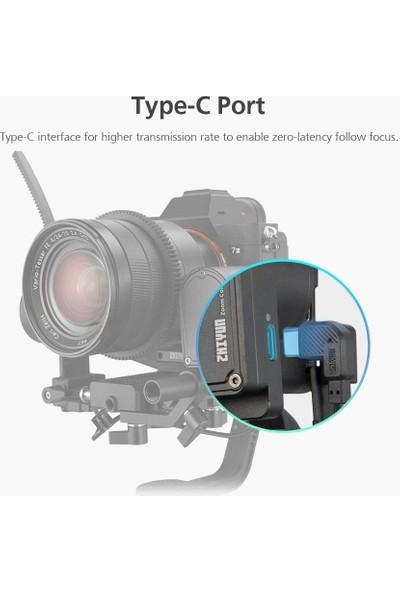 Zhiyun Cmf-04 Maksimum Servo Ayarlanabilir Dişli Halkası Motor Yakınlaştırma Odak Kontrollü Odak Takip Et (Yurt Dışından)