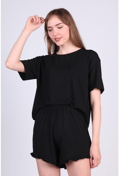 Meliana Şortlu Viskon Pijama Takımı