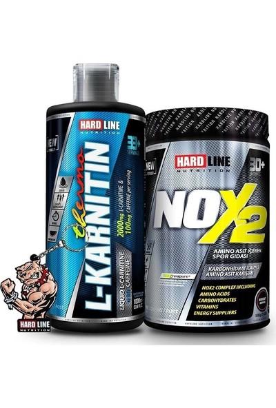 Hardline Nutrition Hardline Nox 2 + L-Carnitine Thermo Kombinasyonu