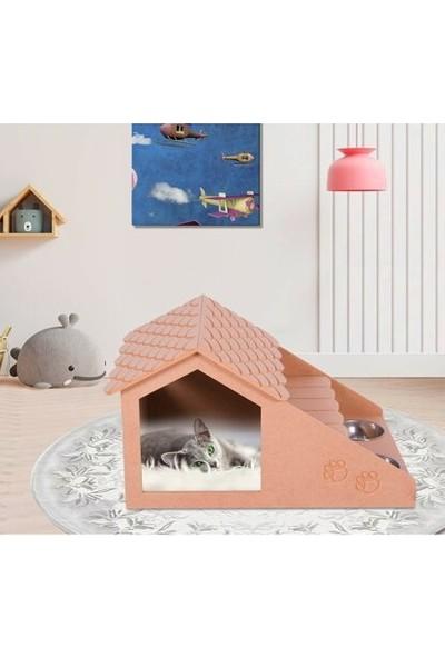 Oyuncakavm Kedi Evi Köpek Evi Kedi Köpek Yuvası Kulübesi Fonksiyonel Ürün