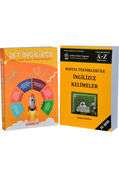 Jet Ingilizce - Hafıza Teknikleri Ikili Set
