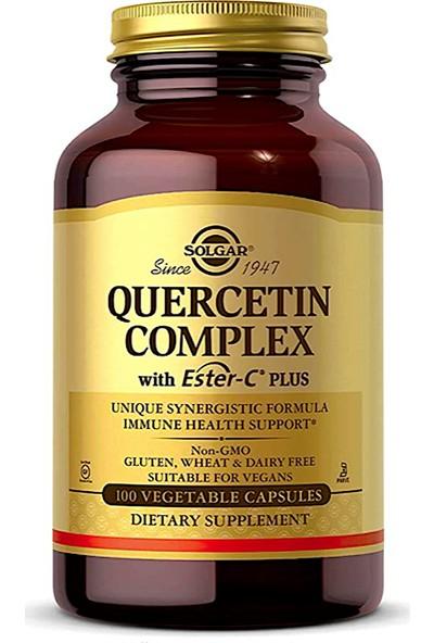 Solgar Quercetin Complex With Ester-C Plus, 100 Vegetable Capsules